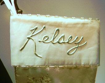 Kelsey Stocking for Christmas