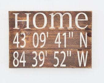 Wood Plank Love Sign Home Decor Sign Custom Rustic Wood