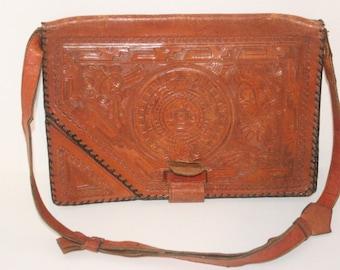 Full Grain Leather Native Hand Bag