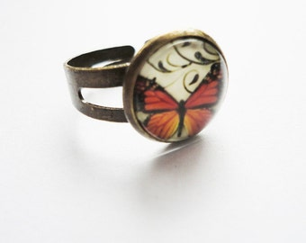 Ring Butterfly adjustable