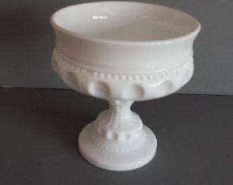 Milk Glass Vase