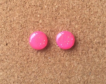 Fushia Sparkle Earrings