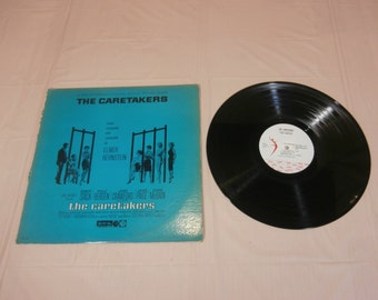 The Caretakers Soundtrack LP Elmer Bernstein Record Album AS-31