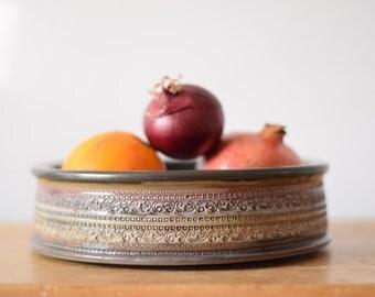 Bitossi Italy - bowl - ornament decor - 618/73 - midcentury pottery