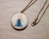 Elsa Princess Necklace, Disney Fan Gift