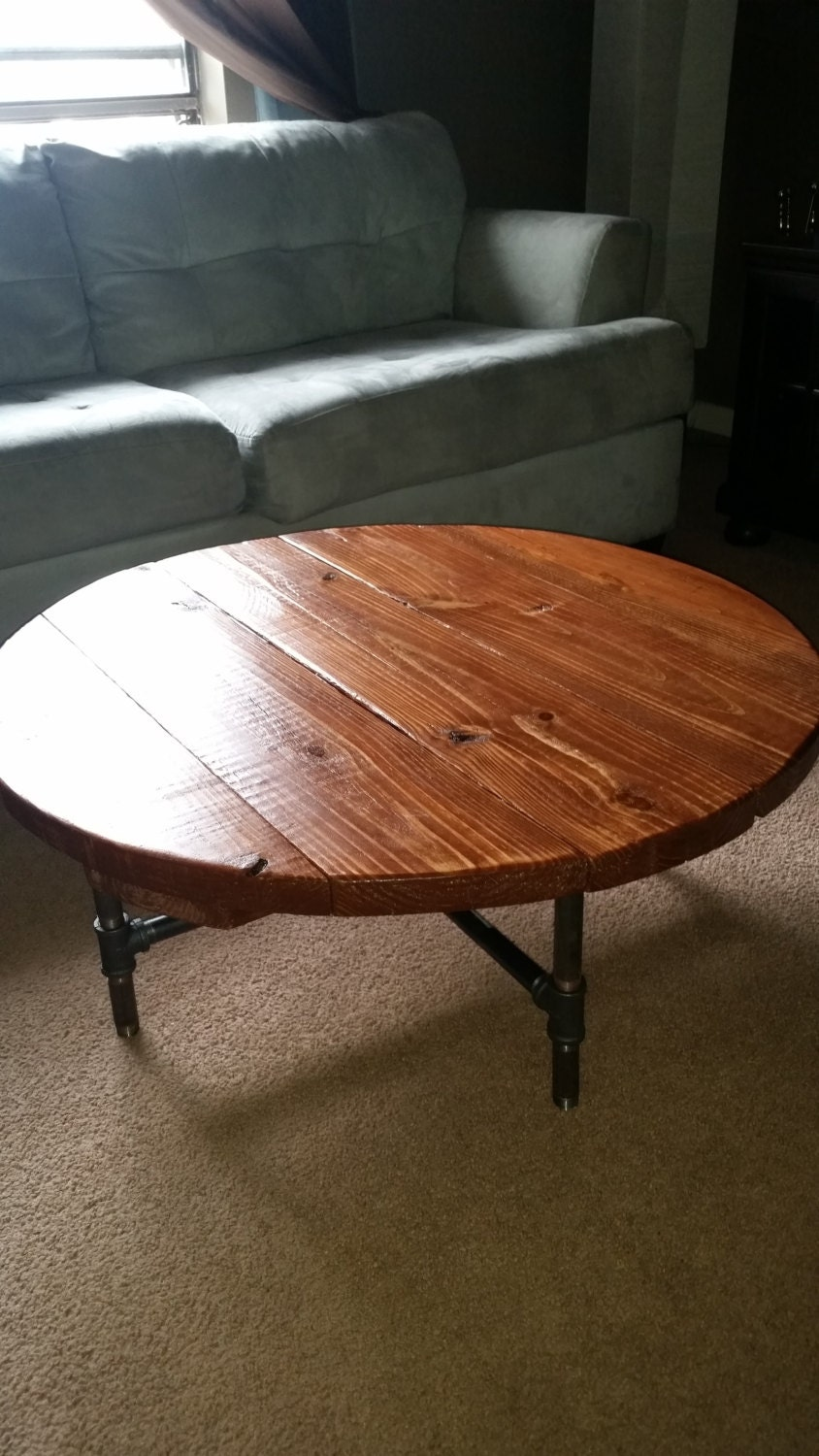 Industrial Pipe Leg Round Dining Table 36 : ilfullxfull747043142i26j from www.etsy.com size 844 x 1500 jpeg 234kB
