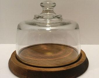 Vintage Cloche Jar