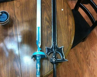 Custom Kirito black sword Elucidator