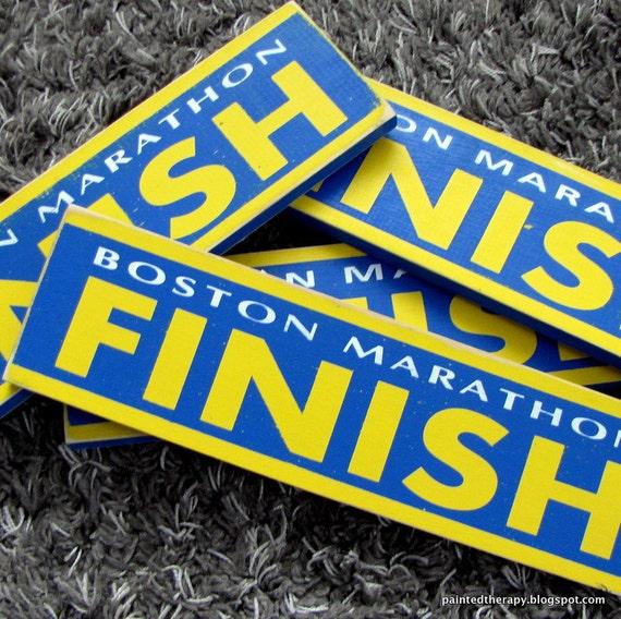 Boston Marathon Sign 100% of profits to charity