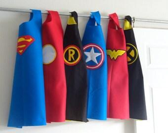 Superhero Felt Party Capes