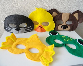 Animal Mask of the Month Club// 9 Month Subscription
