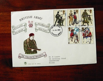 Stuart First Day Cover British Army Parachute Regiment 1983