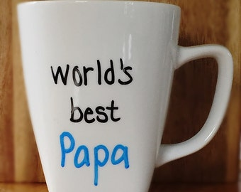 World's Best Papa- Coffee Mug