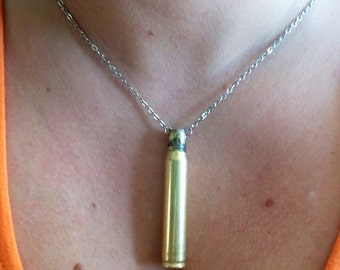 Simple .30-06 Bullet Shell Necklace