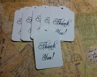 SALE 20 Thank You, Gift Tags/Labels                   #T-1