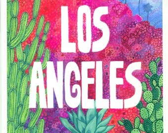 Los Angeles Print