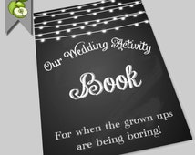 Children's DIY printable wedding activity book chalkboard, FREE single sheets kid's coloring, i-spy paper dolls weddings, ages 2+ DIY Bride