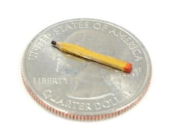 Miniature Pencil, Miniature Accessory, Miniature Office, Mini Office, Small Pencil
