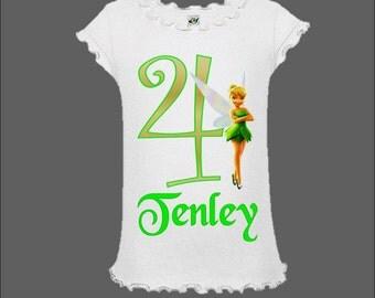 Tinkerbell Birthday Shirt - Tink Birthday Shirt
