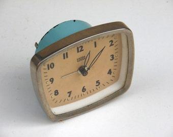 Vintage Baby Blue Alarm Clock - Hungarian MOM