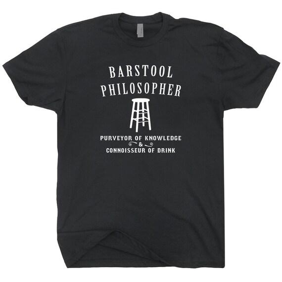 Barstool Philosopher T Shirt funny vintage by Shirtmandude ...