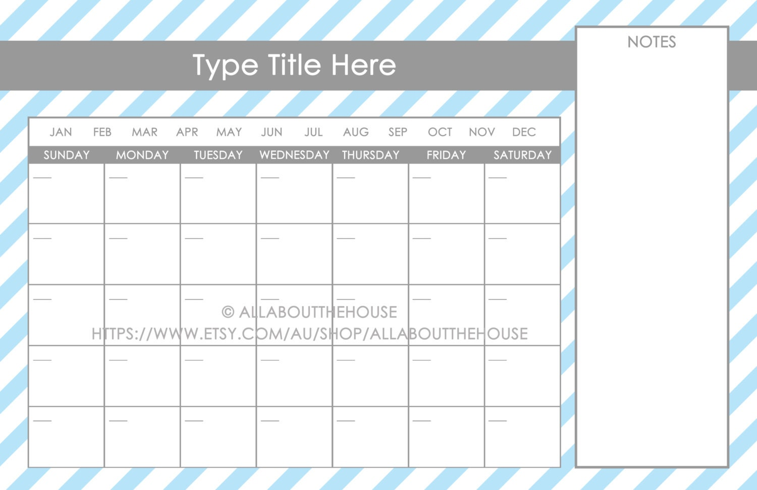 Printable Dry Erase Calendar Message Board Message Centre