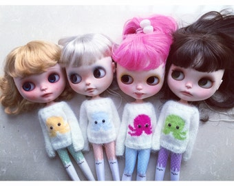 Blythe sweater - Octopus (8 colors)