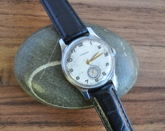 SSSR Pobeda Watch With Patina, Soviet Watch, Pobeda Watch, Pobeda, Mechanical Watch, Winding Watch, Vintage Watch, Wrist Watch Men
