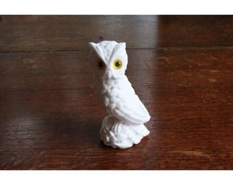Little White Owl Figurine