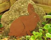 Rabbit Yard Art