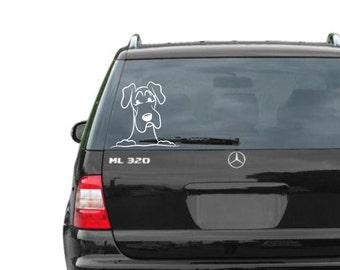Great Dane vinyl car decal/sticker