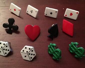 Lady Luck Stud Earrings