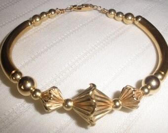 Fancy Gold Bangle