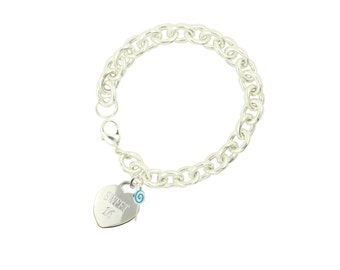 Silver Plated Sweet 16 Bracelet BL (Free Shipping)
