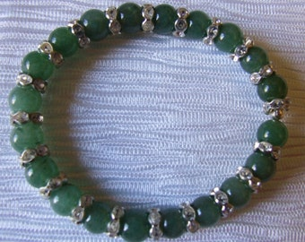 green aventurine  bracelet 0057SB