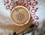 Snowflake Gift Tags, set of 12