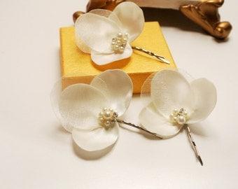 Wedding Hairpiece- Bridal Hair Flower -Wedding Hair Flower -Wedding Flower Headpiece- Bridal Hair Accessories