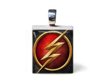 The Flash Series Scrabble Pendant