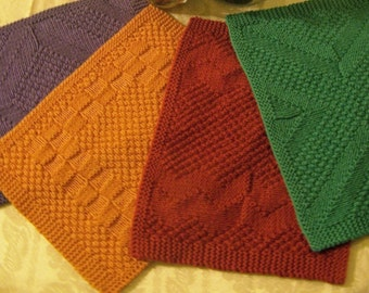 Knitting Pattern - Really Reversible Placemats & Table Runners Collection