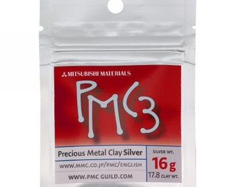 Silver Precious Metal Clay PMC3 - 16G