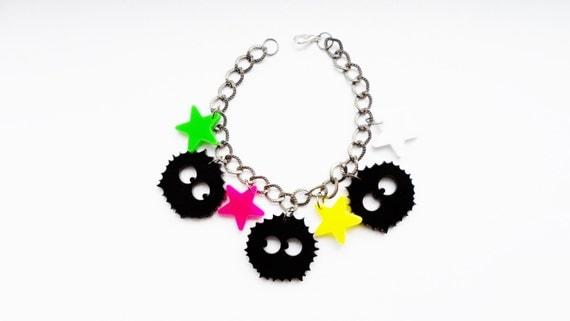 Soot Sprite charm bracelet