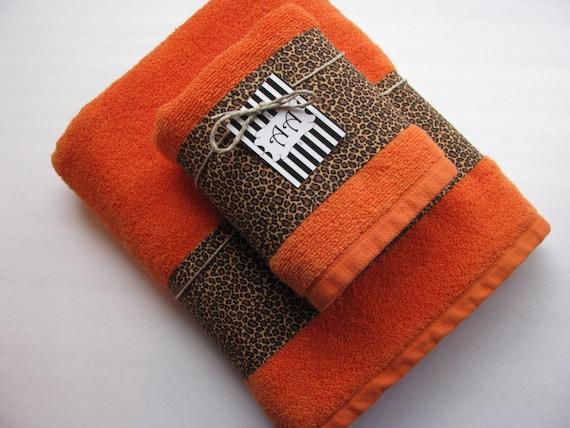 Leopard Bath Towels Leopard Bath Towels Hand Towels By