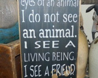 Animal eyes Primitive Sign