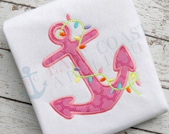 ANCHOR LIGHTS machine embroidery design