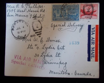 1948 Vintage Envelope