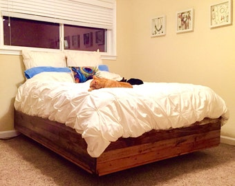 Reno Floating Bed Frame