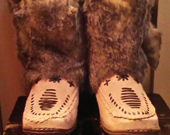 Womens Burning Man Concert Boots Size 8 On SALE