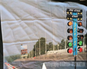 MIR Drag racing throw blanket 57 x 47