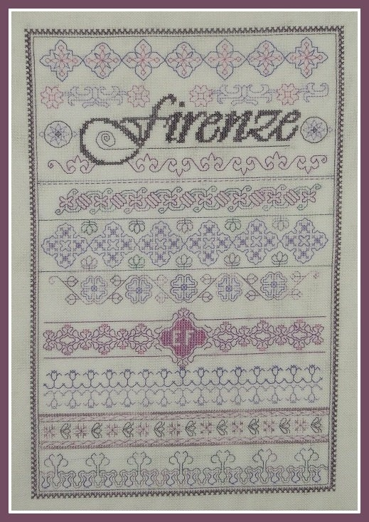Firenze embroidery pattern pdf from brodeusebressane