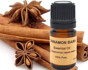 Cinnamon Bark Essential Oil 5ml, 10 ml or 15 ml